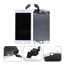 """White LCD Screen Touch Digitizer + Frame + Front Camera For iPhone 6 Plus 5.5"""""""