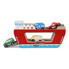 Melissa And Doug Classic Toy Wooden Ferryboat Set NEW Toys