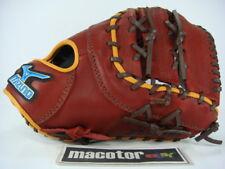 "New Mizuno BASOLID 13"" First 1st Baseball Glove Crimson Pro RHT SALE"