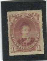 NewFoundland Stamps Scott #37 MINT,H,F-VF,partial gum (X8670N)