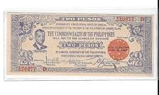 Philippines Emergency Guerrilla Currency Negros Nice 2 Peso - # 0977