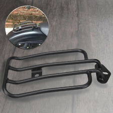 "7"" Rear Solo Luggage Rack For Harley-Davidson Sportster XL883R/883C/1200C/1200L"
