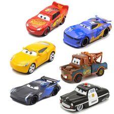 6 Disney Pixar Car Lightning McQueen Mould Children Boy Toy Set Toy Car