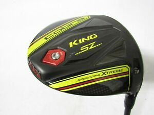 Used RH Cobra King SZ (Yellow) 10.5* Driver Rogue 60 Graphite Shaft Stiff S Flex