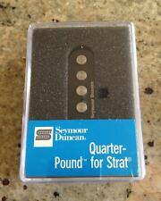 Seymour Duncan Quarter Pound SSL-7 Staggered haut rendement pour Fender Strat-B&N