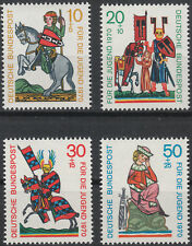 Bund 1970, Mi.Nr. 612 - 615, (No. 7101a), Postfrisch **