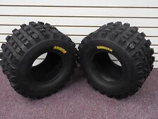 YAMAHA YFM 700 RAPTOR AMBUSH SPORT ATV TIRES 20X10-9 REAR (2 TIRE SET) 4PR