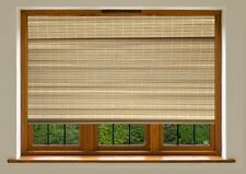 Blackout Roman Blinds - Natural Bamboo 120 CM X 183 CM - 4 x 6 FT Brand New !