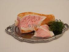 Dolls house food: Ham on the bone -By Fran