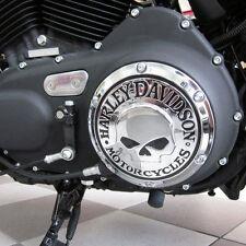 04-17 OEM Harley Davidson Chrome Willie G Skull Derby Cover Sportster XL