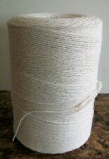 1 Natural Spool 8/4 Poly/Cotton Loom Weaving Rag Rug Carpet Warp Yarn String