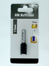 Fräser 17mm für T-Nutschiene Nutfräser 8mm Schaft HM 17x20mm