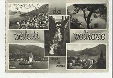 MOLTRASIO  VECCHIA CARTOLINA FORMATO GRANDE  LAGO DI COMO 72657