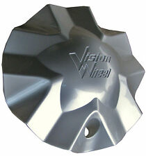 Hollywood 5 Silver CENTER CAP For Vision Hollywood 5 Wheel C435-DGS