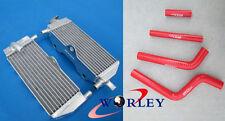 FOR YAMAHA YZ250 YZ 250 1996-2001 97 98 99 00 Aluminum Radiator + Silicone Hose