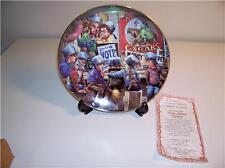 RIVER SHORE COLLECTOR PLATE -RIGHT TO VOTE -CROOK -1987