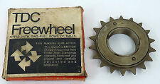 "TDC 3/32""  SINGLE speed freewheel english thread 18t 1 speed Vintage Bike NOS"