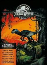 Jurassic World: 5-Movie Collection (Dvd) With Hard Cover