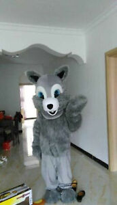 Adult Cute Grey Squirrel Party Mascot Costume Christmas Fancy Dress Halloween