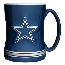 Dallas Cowboys Mug Sculpted Relief Coffee Mug 14oz