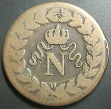 UN DECIME à l'N Couronnée 1814 BB SANS LES POINTS - NAPOLEON 1er - Pas courant