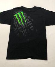 Monster Energy Drink Men's Black Short Sleeve T Shirt Size Large
