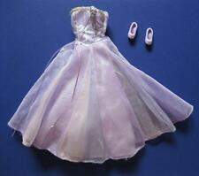 MAGIC OF PEGASUS Princess ANNIKA Reversible Purple Double Dress Ballet Shoes Set