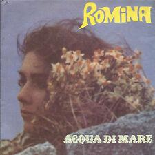 ACQUA DI MARE - MESSAGGIO = ROMINA POWER (con poster)