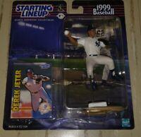 Derek Jeter New York Yankees Vintage 1999 MLB Starting Lineup Figure