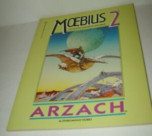 EPIC GRAPHIC NOVEL MOEBIUS 2 ARZACH THE COLLECTED FANTASIES JEAN GIRAUD COMIC