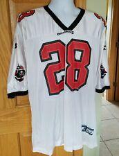 0b692ccd VINTAGE Starter Tampa Bay Buccaneers MENS 2XL Warrick Dunn NFL Jersey WHITE