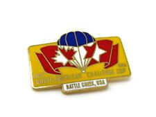 North American Challenge Cup Pin Hot Air Balloon 1983 First Battle Creek