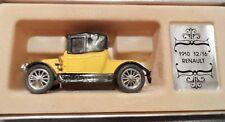 Vintage Corgi  C862 1910 12/16 RENAULT Yellow Coachwork ..boxed!