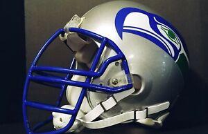 Seattle Seahawks full size throwback style helmet