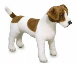 Melissa And Doug Jack Russell terrier plush Stuffed Animal