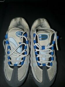Nike Air Max Blue Gray Youth Size 4