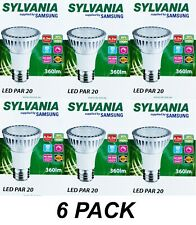 6 x Dimmable LED PAR20 Floodlight Globes Bulbs 6W 240V E27 Warm White 2700K