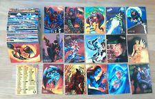 1995 FLEER ULTRA SPIDER-MAN – COMPLETE BASE SET of 150 CARDS Gold stamp