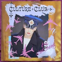 "Culture Club – The War Song 7"" – VS 694 – VG"