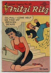 United Comics 24 Fritzi Ritz