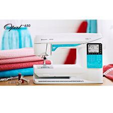 Husqvarna Viking Computerized Opal 650 Sewing Machine BNIB
