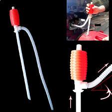 Portable Manual Car Siphon Hose Oil Gas Water Liquid Transfer Pump Suckers AU 1X