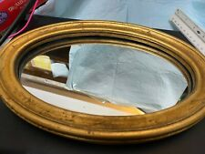 Collectible Wooden Frame Oval Dressing Mirror.kz