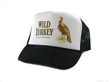 Wild Turkey Whisky Trucker Hat mesh hat snapback hat black