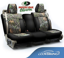 NEW Mossy Oak Obsession Camo Camouflage Seat Covers w/Black Sides / 5102006-12