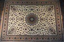 """Orientalischer Teppich Kollektion """"Pearl"""" 25003/100 Beige, 1000000 Knoten/m²."""