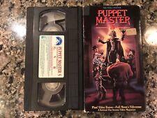 Puppetmaster 5 Vhs! 1994 Horror! (See) Dolls Demonic Toys 2 Magic & Devil Doll