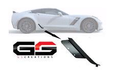 C7 Corvette Z06 / ZR1 Grand Sport Factory Lower Brake Duct Matte Black Passenger
