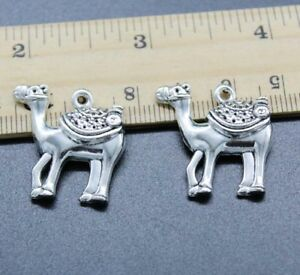 Free Shipping 3/10/20pc Camel Alloy Charms Pendant Jewelry Making DIY 24*24mm
