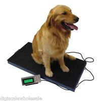 Veterinary Floor Scale 400lb x 0.1lb Tree LC-VS 400 Plastic Platform Animal Vet